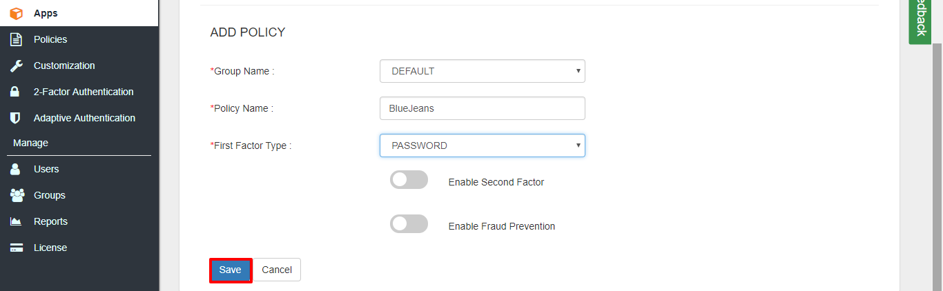BlueJeans two factor authentication (2FA) configure bluejeans