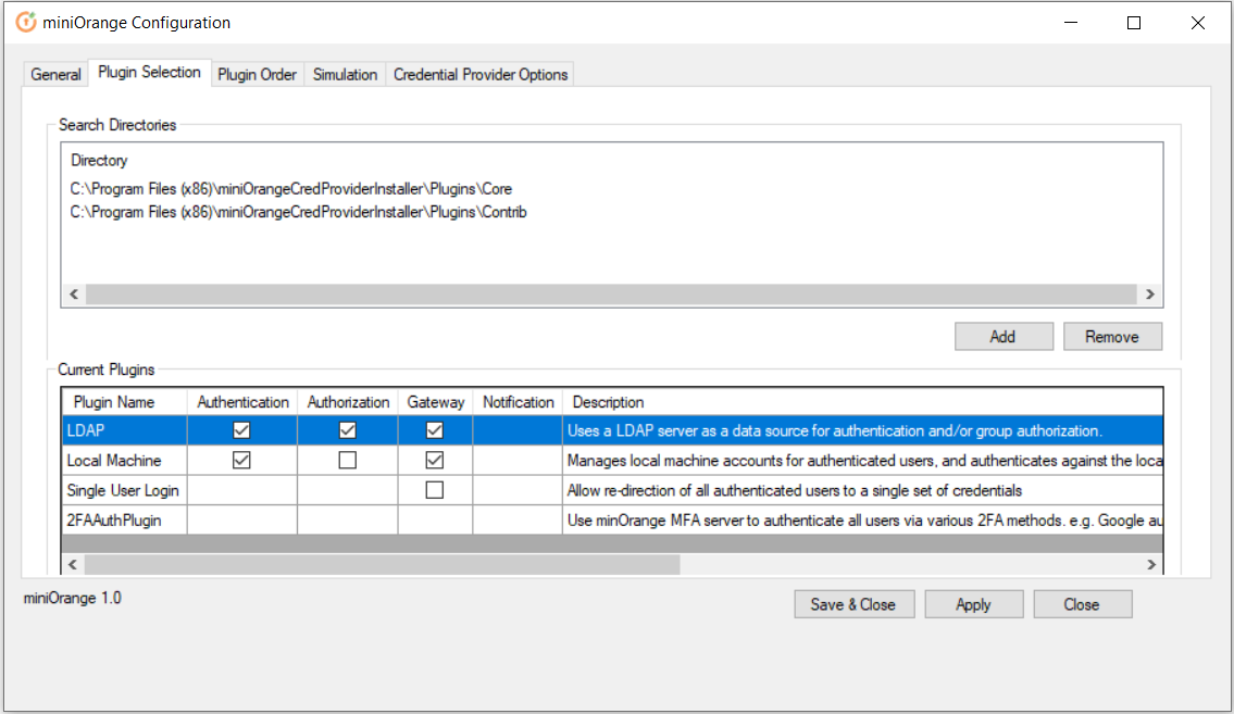 windows credential provider enable authentication