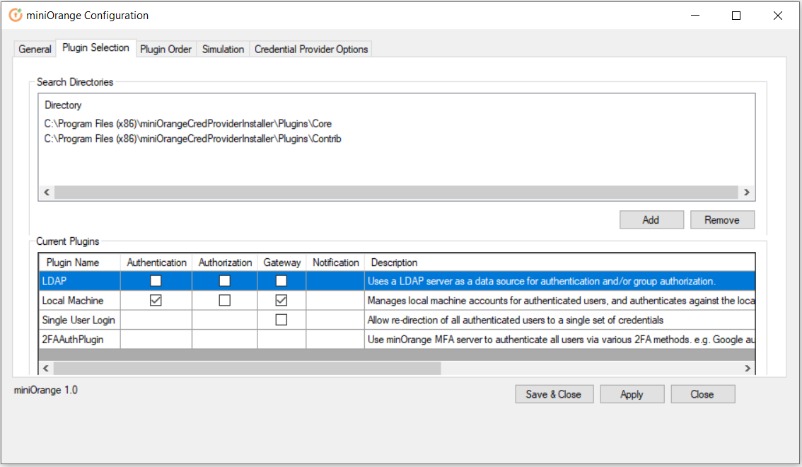 windows credential provider ldap