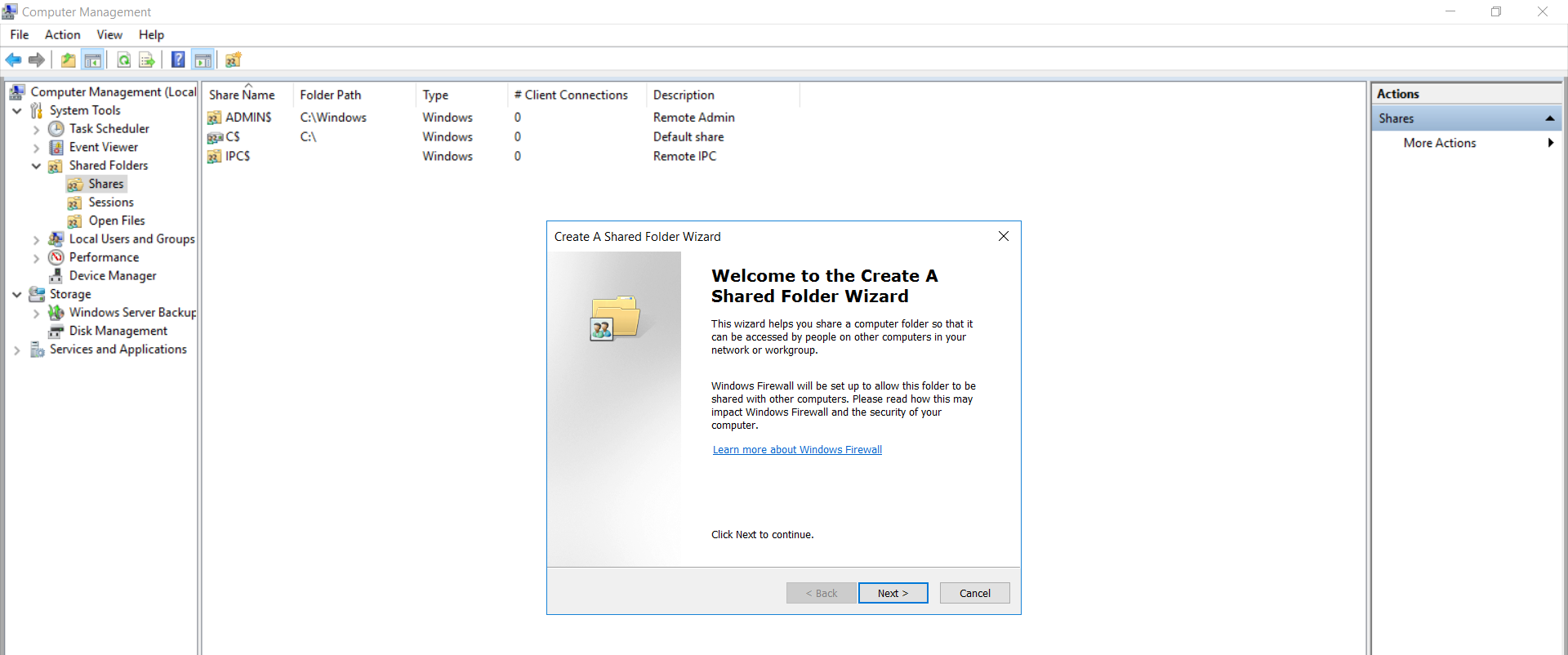 windows credential provider group policy shared folder