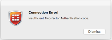 MFA 2FA two factor authentication for Fortinet Fortigate  vpn-login-failure