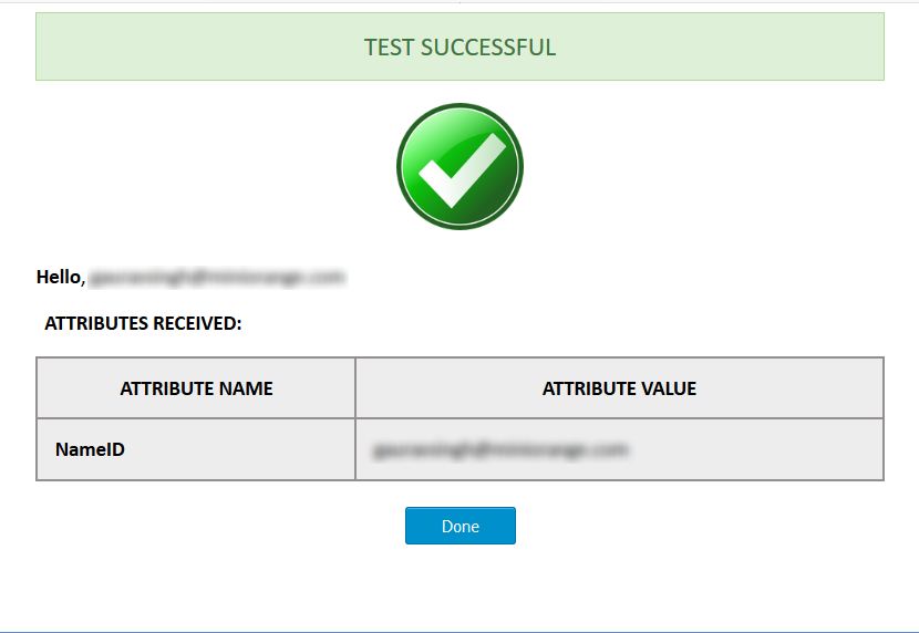 Laravel Single Sign On SSO Test Result