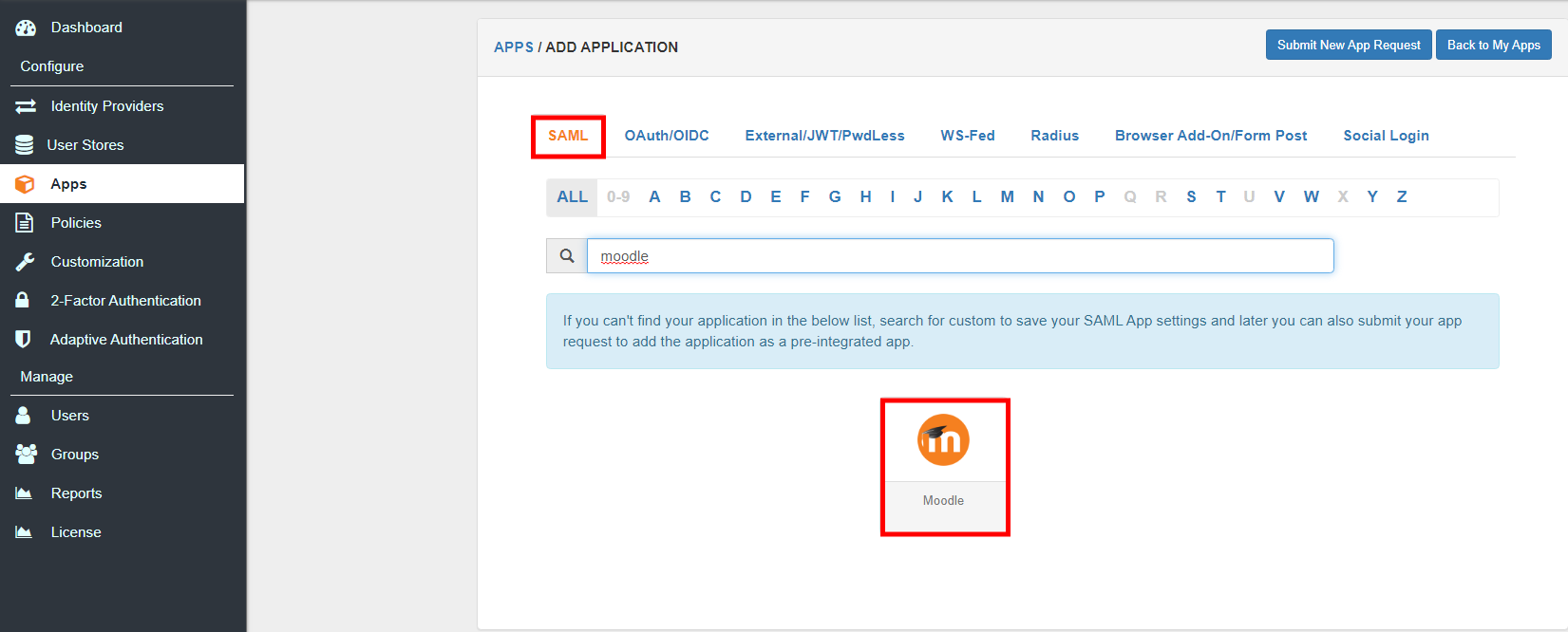 Moodle Single Sign On (SSO) Moodle Login moodle_app