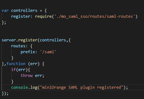 Step by Step Guide for Single Sign On into Nodejs with SAML