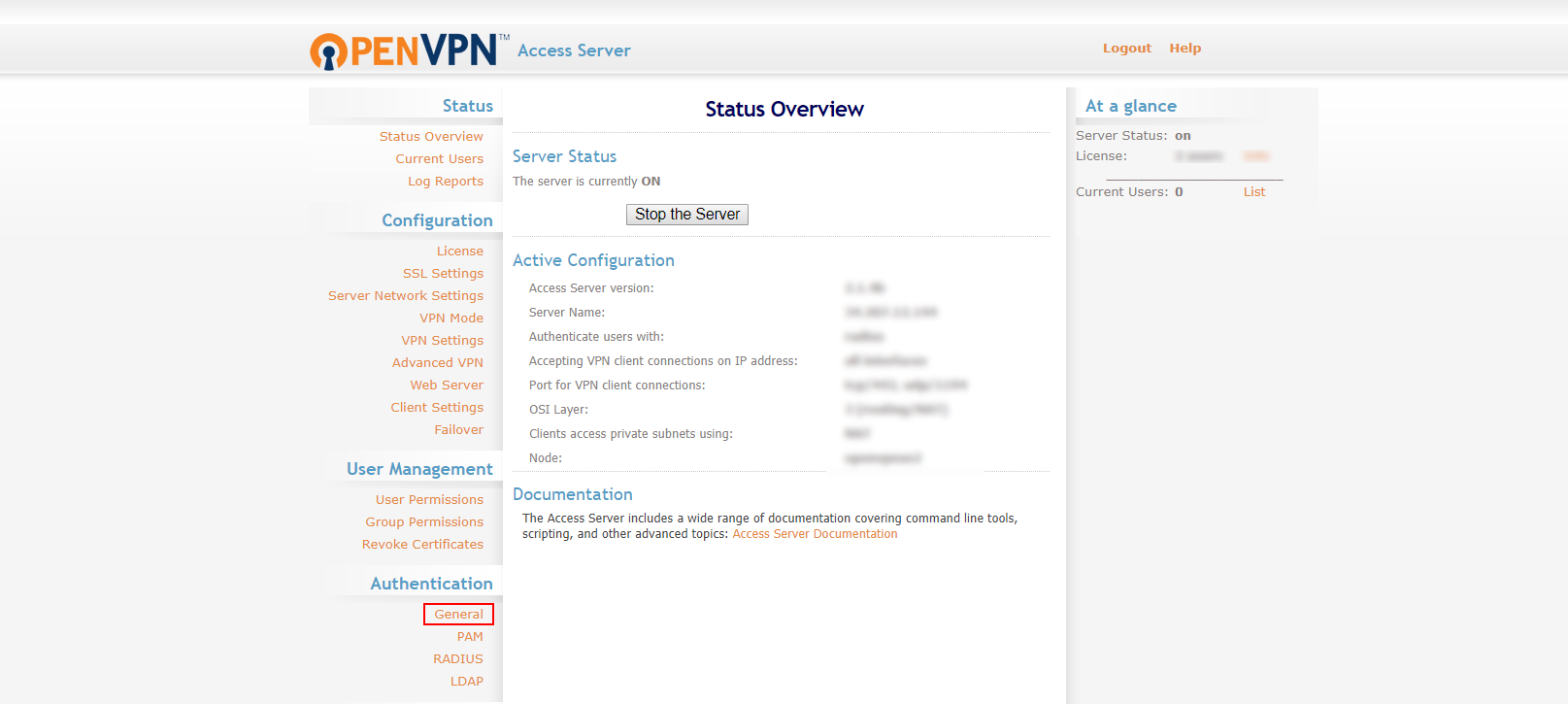 MFA 2FA two-factor authentication for OpenVPN  general