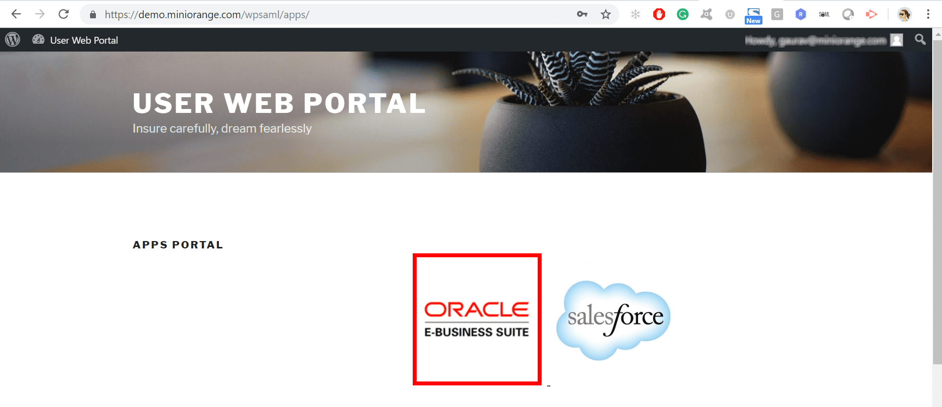 single-sign-on-extension-secure-sso-oracle-ebs-login-page-oracle icon