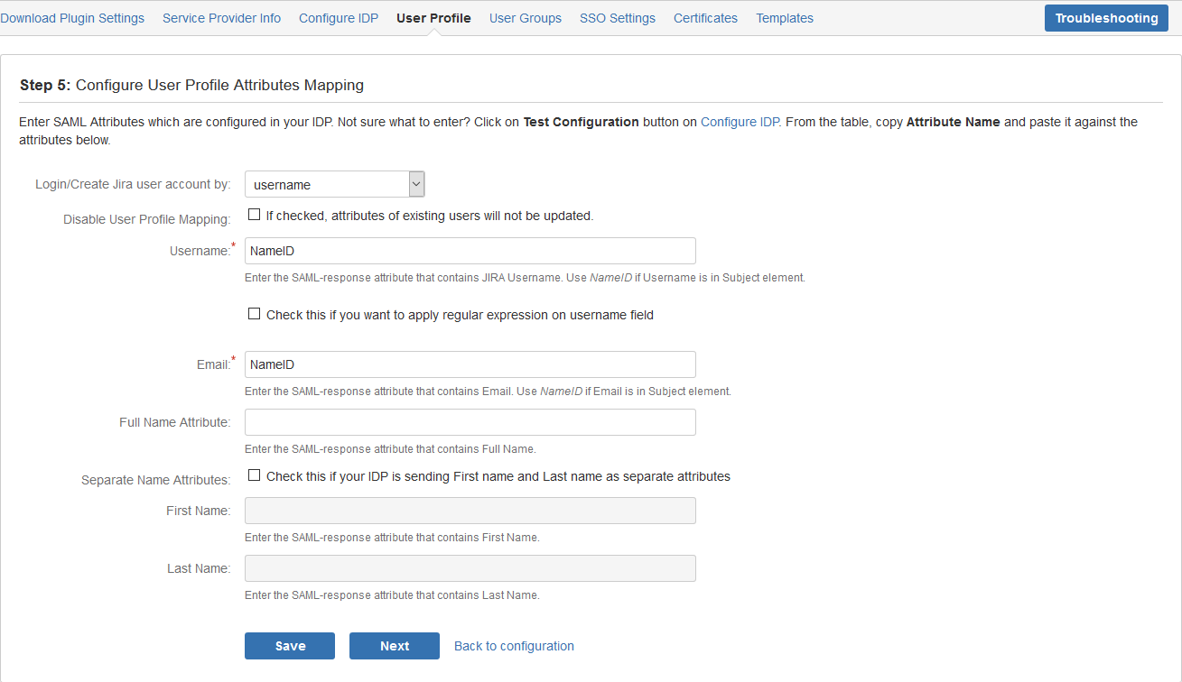 Single sign-on for JIRA using Fiede