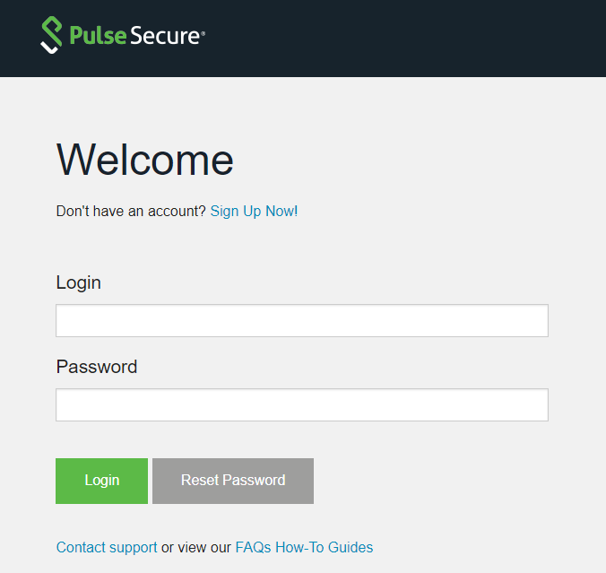 Pulse connector pulse secure client