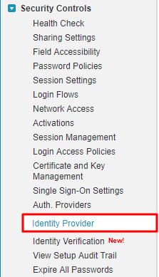 Step by Step Guide for Single Sign On Salesforce as IDP