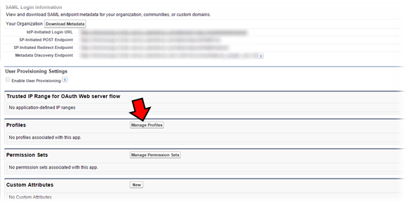 Step by Step Guide for Single Sign On Salesforce as IDP using