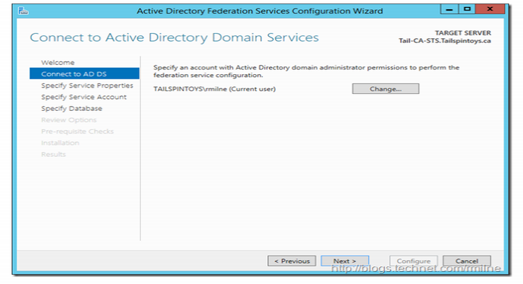 Active Directory Domain admin credentials